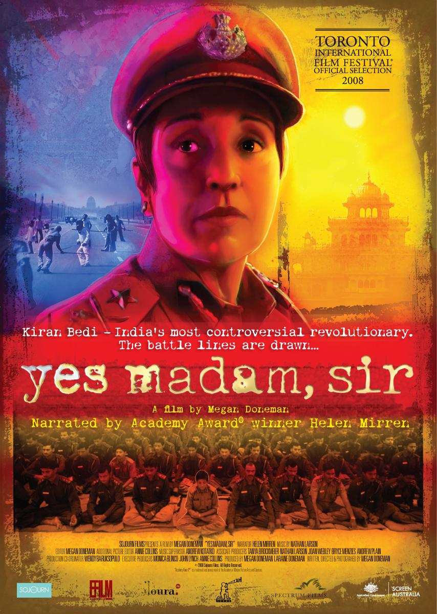 yes madam sir poster