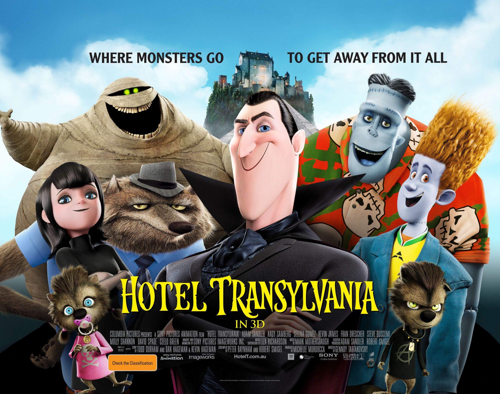 hotel transylvania poster lands
