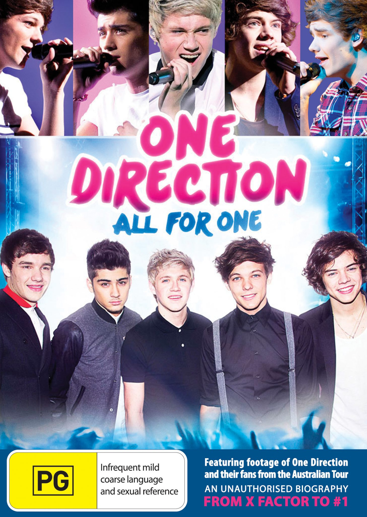DVD Review: One Direction: All For One