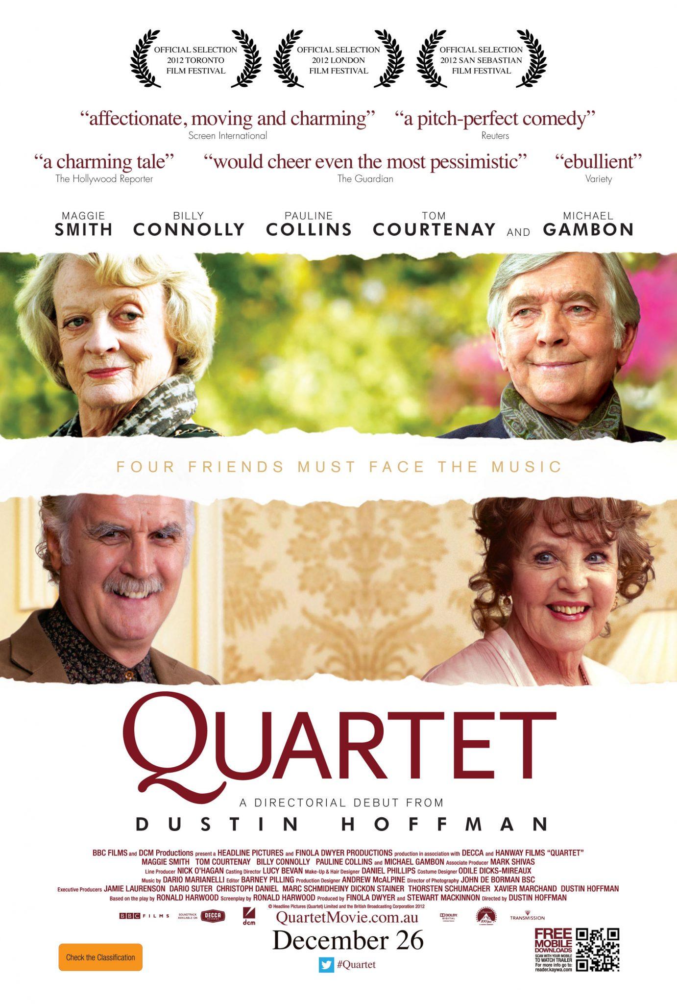 Film Review: Quartet (2012) – Film Blerg